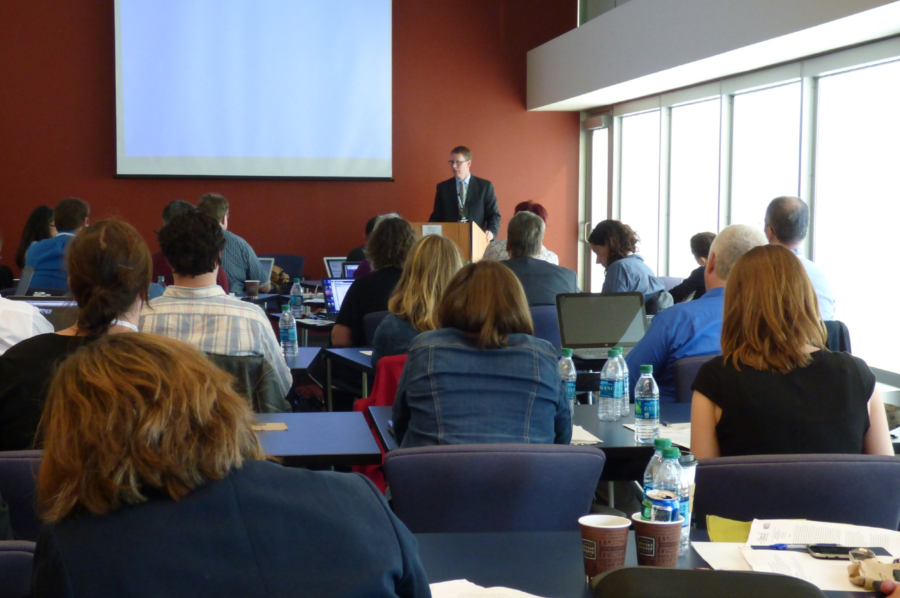 Climate Change and the News Seminar for journalists in Chicago