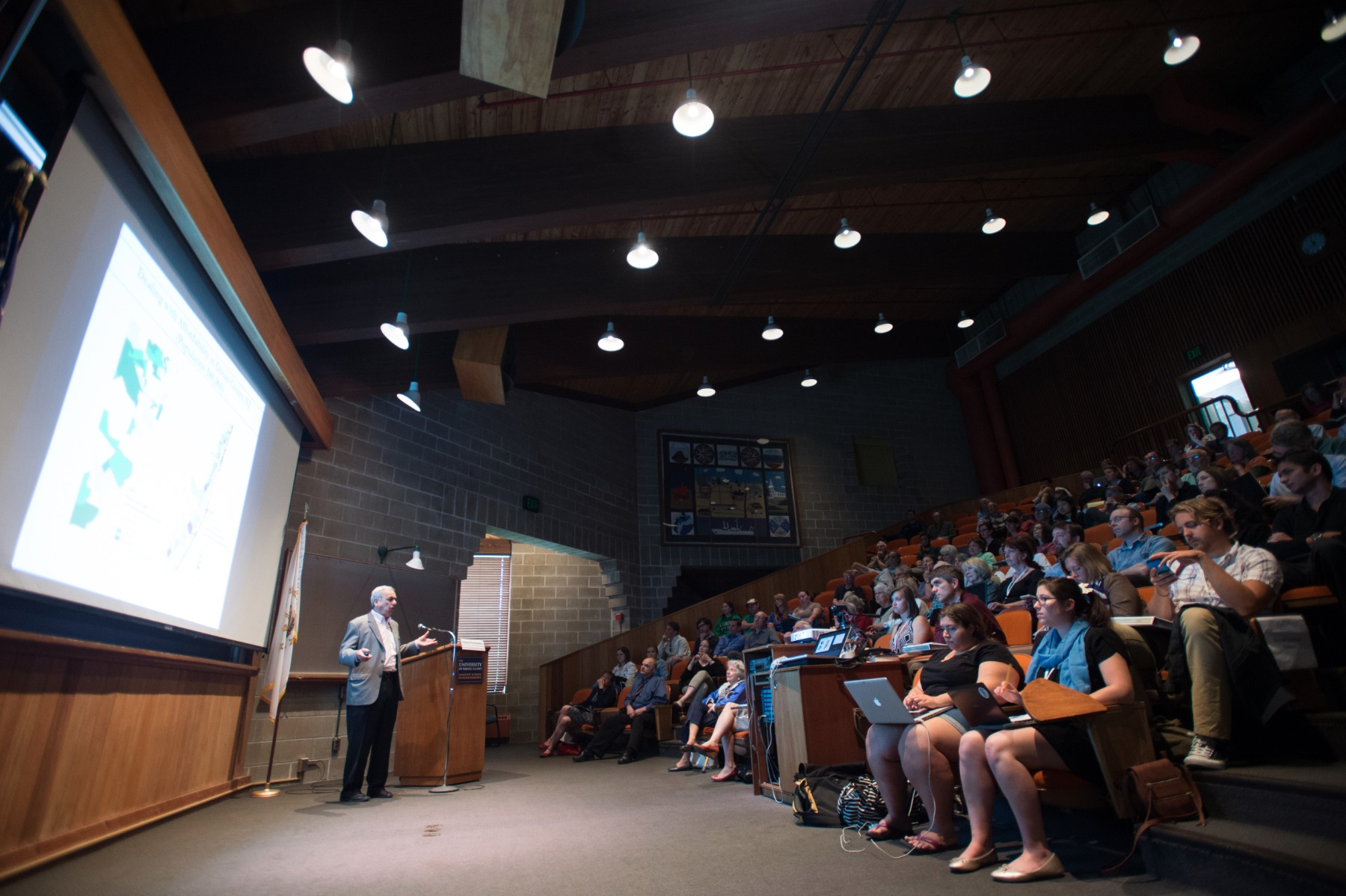 4-Fellows learn about climate change risk at Annual Lecture