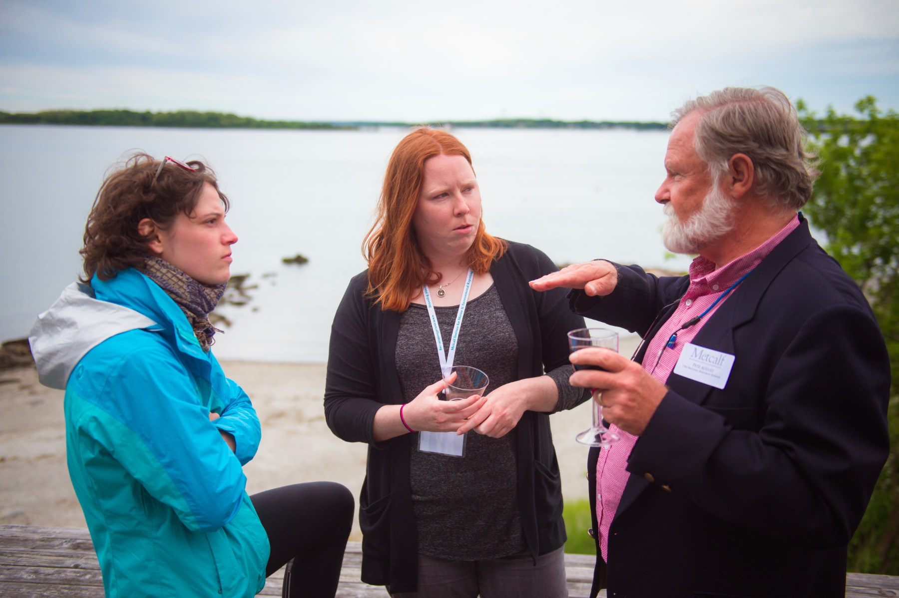 Metcalf Fellows value informal interactions with scientists